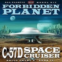 Polar-Lights Forbidden Planet C57D Starcruiser Science Fiction Plastic Model 1/144 Scale #pol895