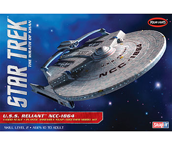 Polar-Lights Star Trek USS Reliant Science Fiction Plastic Model 1/1000 Scale #pol906_12