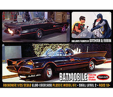 Polar-Lights 1966 Batmobile with Robin Plastic Model Car Kit 1/25 Scale #pol920
