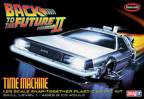 Polar-Lights Back to the Future II Plastic Model Car Kit 1/25 Scale #pol925