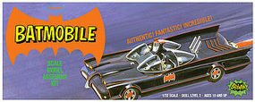 Classic Batmobile Plastic Model Car 1/32 Scale #pol933