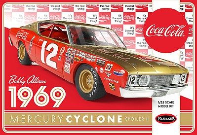 Polar Lights BOBBY ALLISON '69 MERCURY 1-25