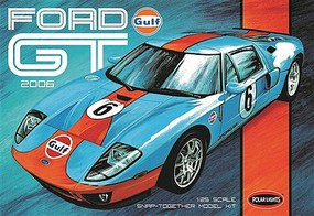 Polar-Lights 1/25 2006 Ford GT Car (Snap) Plastic Model Car Kit 1/25 Scale #pol955