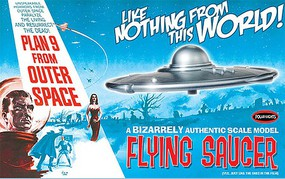 Polar-Lights Plan 9 Flying Saucer Outer Spa