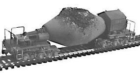 Plastruct Steel Mill Hot Metal ''Bottle'' Car Kit (Undecorated) HO Scale Model Railroad #1040