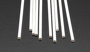 Plastruct Tube Butyrate 1/8 (10) Model Scratch Building Plastic Tubing #90104