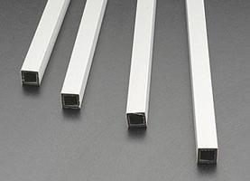 Plastruct Square Tube ABS 3/8 (4) Model Scratch Building Plastic Tubing #90205