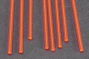 Plastruct Fluorescent Rod 3/32 (8) Model Scratch Building Plastic Rods #90272