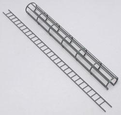 Plastruct CL-16 SAFETY CAGE LADDER -- Model Railroad Scratch Supply -- #90434