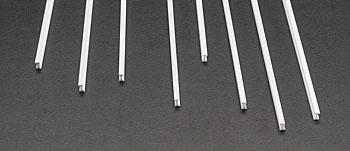 Plastruct Styrene Structural Shapes-I Beams -- 1/8 x 15'' Long (8)