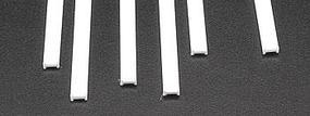 Plastruct Styrene Structural Shapes-I Beams 5/32 x 15 Long (6)