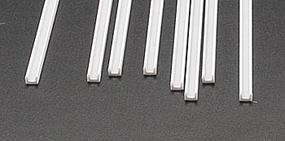 Plastruct Styrene Structural Shapes-Deep Channels 1/8 x 15 Long pkg(8)