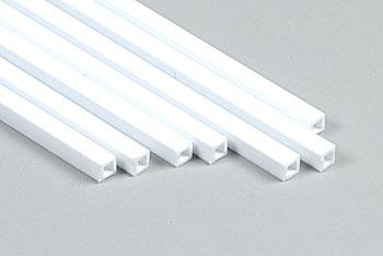 Plastruct Square Tube Styrene 1/8 (7)