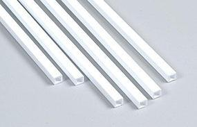Plastruct Square Tube Styrene 3/16 (6)