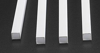 "10 Plastruct 90740 Styrene Square Rod 0.040/""x 10/"""