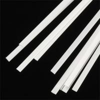 Plastruct Rectangle Strip .010x.100x10 (8) Model Scratch Building Plastic Supply #90715