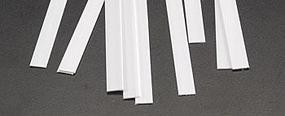 Plastruct Rectangle Strip Styrene .020x1/4x10 (10)