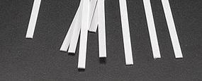 Plastruct Rectangle Strip Styrene .030x1/8x10 (10)