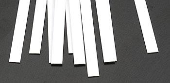 Plastruct Rectangle Strip Styrene .030x1/4x10 (10)