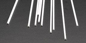 Plastruct Styrene Rod-Square .080 x 10 Long (10)