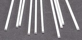 Plastruct Styrene Rod-Square .100 x 10 Long (10)