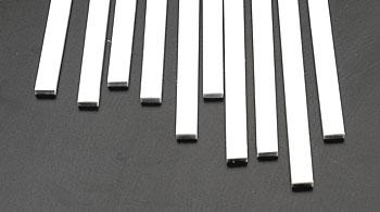 Plastruct Rectangle Strip Styrene .100x1/4x10 (10)