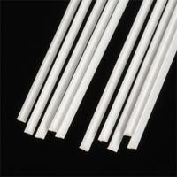 Plastruct Styrene Triangular Rod .080 x 10 (10)