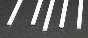 Half Round Styrene 1/8x1/16x10 (5) Model Scratch Building Plastic Sheet Rod Tube Strip #90884