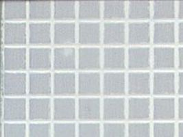 Plastruct Square White 5/64 Tiles Pattern Plastic Sheets (2) Model Railroad Scratch Supply #91543