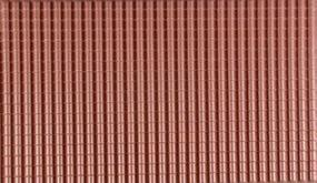 Plastruct Sht Span Tile Red .250 2/ G-Scale (2)