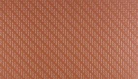 Plastruct Red Stone Interlocking Paving Stone Sheets (2) Model Railroad Scratch Supply #91672