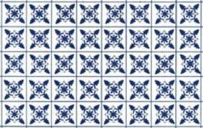 Plastruct PSP-43 Square Tile Paper Sheet Blue Snowflake (2) Model Railroad Scratch Supply #91862