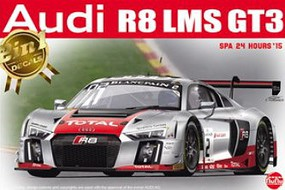 Platz-Model 1/24 Audi R8 LMS GT3 2015 SPA 24-Hour Race Car (New Tool)