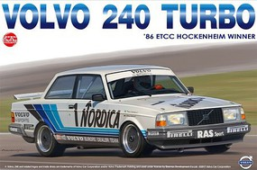 Platz-Model 1/24 Volvo 240 Turbo 1986 ETCC Hockenheim Winner Race Car