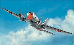Platz-Model C-46D Curtis Commando JASDF Plastic Model Airplane Kit 1/144 Scale #pd21