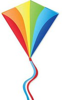 Premier Bold Innovations Diamond Traditional Rainbow Kite