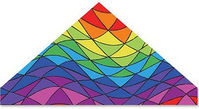 Premier 56'' Delta, Rainbow Triangles