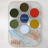 Panpastel Scenery Color Kit (7 9ml pan colors, tray, tools) Watercolor Paint #30703