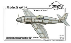 Planet 1/48 Heinkel He100V8 World Speed Record Fighter