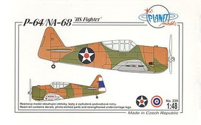 Planet 1/48 P64/NA68 US Fighter