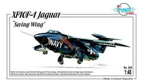 Planet 1/48 XF10F1 Jaguar Swing Wing USN Fighter