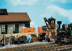 Small coaling station - G-Scale