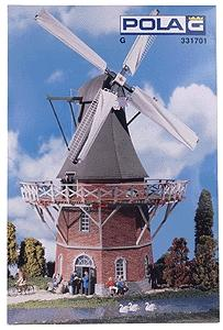 Pola Large Windmill -- G Scale Model Railroad Building -- #331701