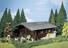 Pola Log Cabin G Scale Model Railroad Building #331722