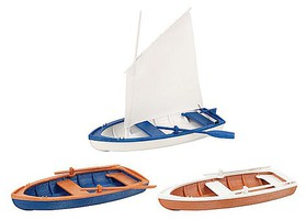 Pola Rowing/Sailing Boats G-Scale