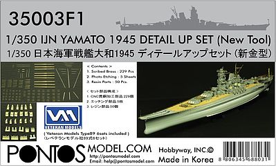 Tamiya Military Model Photo-Etched 1//350 War Ship Gun Barrel /& Projectiles 12643