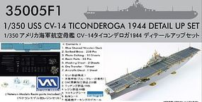 USS Ticonderoga CV14 1944 Detail Set Plastic Model Ship Accessory 1/350 #350051