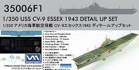 Pontos USS Essex CV9 1943 Detail Set Plastic Model Ship Accessory 1/350 Scale #350061