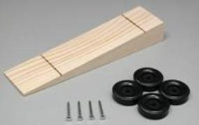 Pine-Pro Wedge Kit with Wheels & Axles Pinewood Derby Car #10047