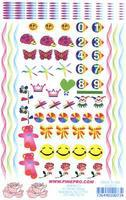 Pine-Pro Decal Sheet Girls Pinewood Derby Decal and Finishing #10073